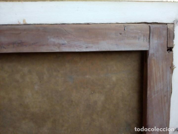 Arte: PAISAJE COSTUMBRISTA SIGLO XVIII, ÓLEO SOBRE LIENZO, ESCENA MARINA, ESCUELA ESPAÑOLA - Foto 18 - 86843164