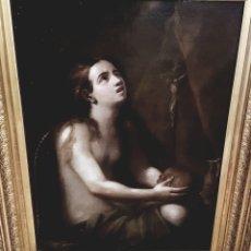 Arte: MARÍA NIÑA PENITENTE SIGLO XVII. ANONIMO. Lote 86554762