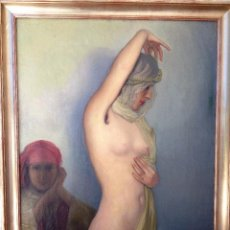 Arte: ODALISCA POR CÉSAR FERNÁNDEZ ARDAVÍN (1883-1974). Lote 87034428