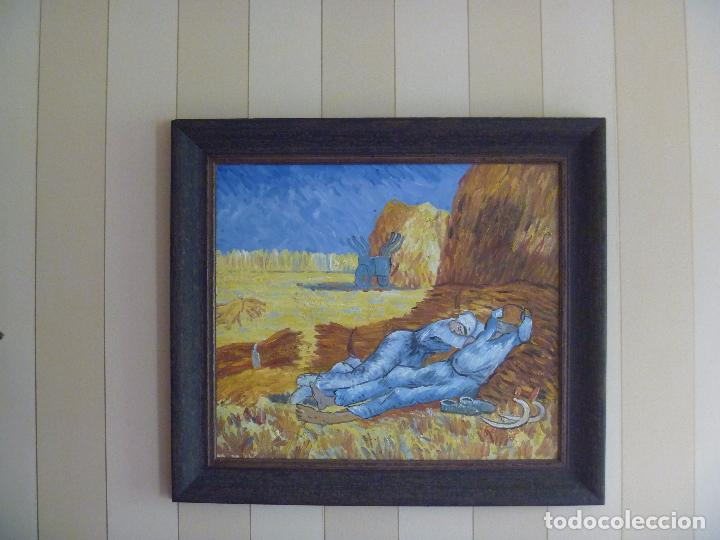 La Siesta Van Gogh Copia Pintor Geelong Impresi Sold Through Direct Sale 87087196