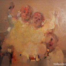 Arte: GUTIÉRREZ MONTIEL, JUAN (1934/2008). ÓLEO SOBRE TABLA.. Lote 87143016