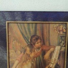Arte: CUADRO RENOIR 2 JEUNES FILLES AU PIANO FRANCIA 2 JOVENES EN EL PIANO. Lote 95547019