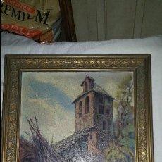 Arte: CASA RURAL - FIRMADO POR J. LLORT- 1960. Lote 87366232
