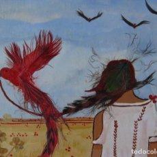 Arte: PINTURA SOBRE TABLA. Lote 87434768