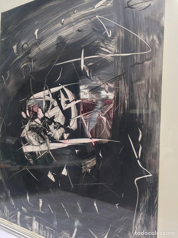 Arte: TEO ASENSIO pintor ( 1935 ) técnica mixta sobre papel - Foto 6 - 87491135