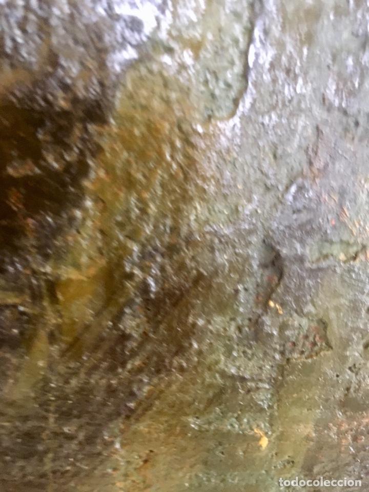 Arte: Cuadro oleo pierrot arlequin niña cansada sol de andres escuela gutierrez navas 135x85 c - Foto 8 - 87591816