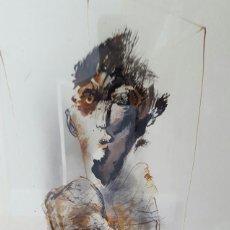 Arte: ALFONSO COSTA (NOIA, A CORUÑA 1943) - PINTOR GALLEGO - TECNICA MIXTA - ENMARCADO. Lote 87780332
