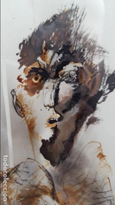 Arte: Alfonso Costa (Noia, A coruña 1943) - Pintor Gallego - Tecnica Mixta - Enmarcado - Foto 3 - 87780332