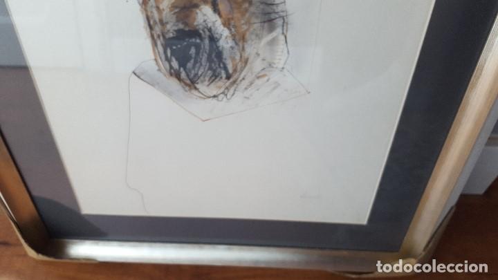 Arte: Alfonso Costa (Noia, A coruña 1943) - Pintor Gallego - Tecnica Mixta - Enmarcado - Foto 8 - 87780332
