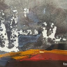 Arte: ALFONSO COSTA (NOIA, A CORUÑA 1943) - PINTOR GALLEGO - TECNICA MIXTA - ENMARCADO. Lote 119579620