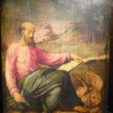 Arte: SAN MARCOS ATRIBUIDO A JUAN DE JUANES (1507-79). Lote 88107188