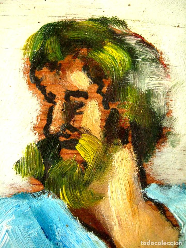 Arte: DESPUÉS DE RAFAEL DE SANZIO. PLATÓN Y ARISTÓTELES. OLEO/TABLA POSIBLEMENTE DEL SIGLO XVIII. - Foto 3 - 88155168