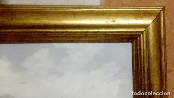 Arte: SUPERLOTE DE 6 ÓLEOS SOBRE TABLA. ENRIQUE MONTES. OFERTTOOÓNNN. - Foto 10 - 98173679