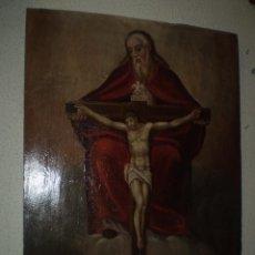 Arte: LA TRINIDAD OLEO SOBRE TABLA S XVIII. Lote 88782252