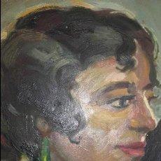 Arte: CUARO OLEO SOBRE TABLA MUY ANTIGUO PINTOR CRESPO DUEZO (MALAGA). Lote 89038904