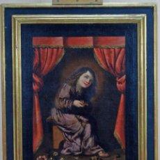 Arte: NIÑO DE LA ESPINA ÓLEO SOBRE LIENZO ESCUELA ANDALUZA SIGLO XVII. Lote 89271488