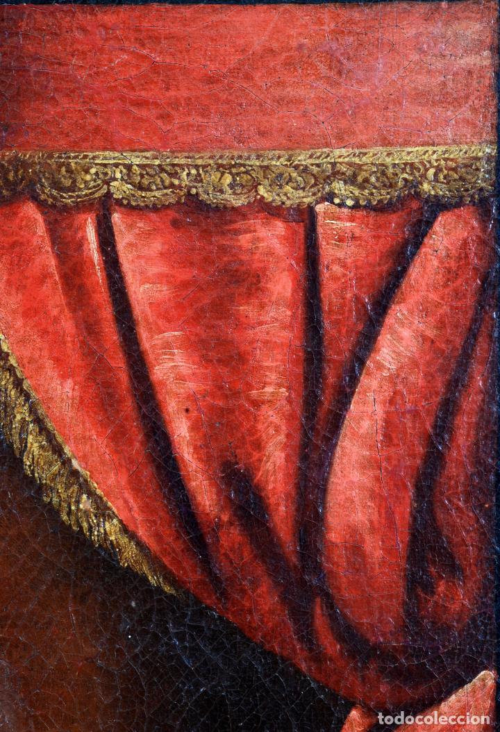 Arte: Niño de la espina óleo sobre lienzo escuela andaluza siglo XVII - Foto 5 - 89271488