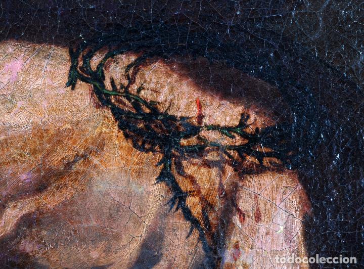 Arte: Niño de la espina óleo sobre lienzo escuela andaluza siglo XVII - Foto 9 - 89271488
