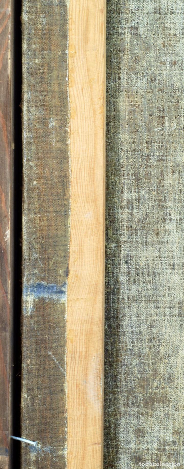 Arte: Niño de la espina óleo sobre lienzo escuela andaluza siglo XVII - Foto 11 - 89271488