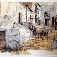 Arte: ÓLEO SOBRE TELA DE PIERRE BERTSCHI 1977. Lote 89714664