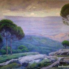 Arte: VANCELLS VIETA JOAQUIM , PINTOR DE PAISAJES, ( CUADRO). Lote 89817984
