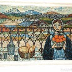 Arte: OLEO SOBRE LIENZO Mª ÁNGELES DE ARMAS Y FECHADO EN 1971. Lote 90039976