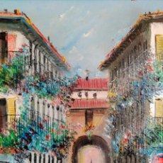 Arte: ÓLEO DEL PINTOR MALAGUEÑO FRANCISCO MORENO ORTEGA. Lote 90123754
