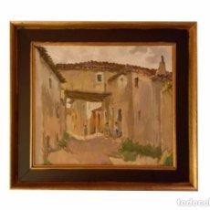 Arte: OLEO, FELIPE DE ABAJO, BURGOS.. Lote 90715805