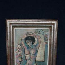 Arte: JUAN RIFA - JOAN RIFÀ BENET ( TORELLÓ, BARCELONA, 1926 – 2009 ) MAGNIFICA OPORTUNIDAD.. Lote 114517714