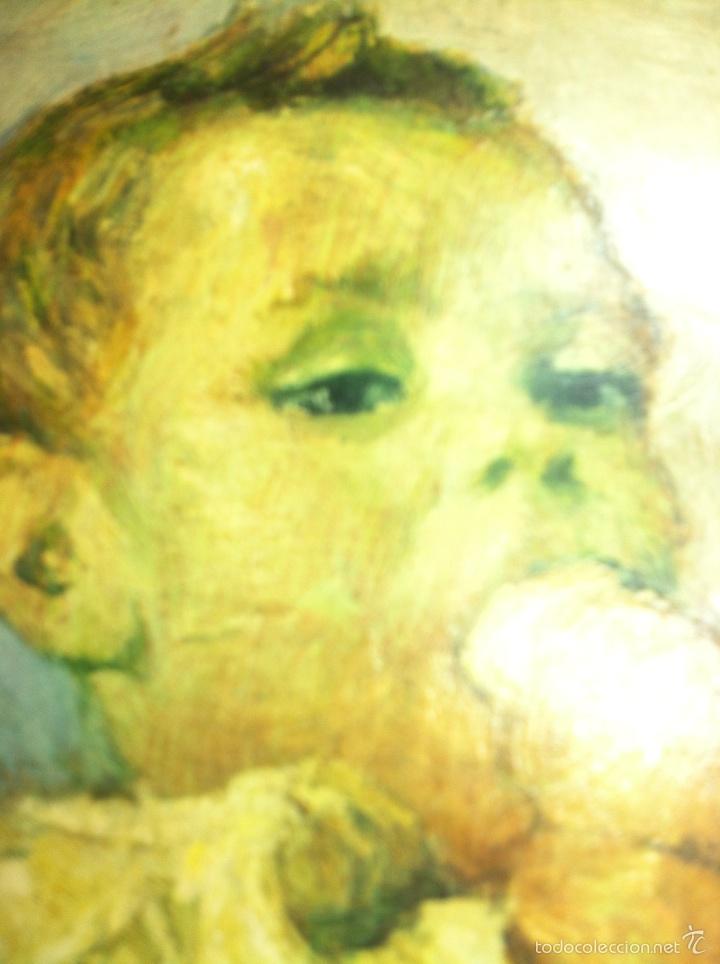 Arte: Pintura lámina copia con barniz - Foto 4 - 90788385