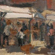 Arte: OLEO RICHARD PEREZ FRANCO (1950). Lote 90902385
