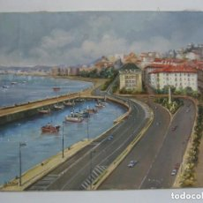 Arte: OLEO PAISAJE COSTA-URBANO.LEER DESCRIPCION.. Lote 90971520