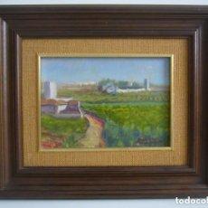 Arte: OLEO PAISAJE RURAL-HUERTA FIRMADO BARRACHINA 80.LEER DESCRIPCION. Lote 90980515