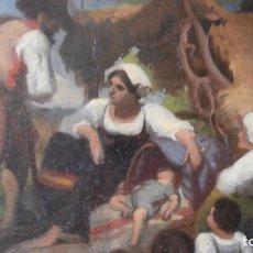 Arte: PINTURA AL OLEO ,FRANCISCO PRADILLA Y ORTIZ ,1848 1921,PINTURA COSTUMBRISTA,OLEO SOBRE LIENZO,. Lote 91296470