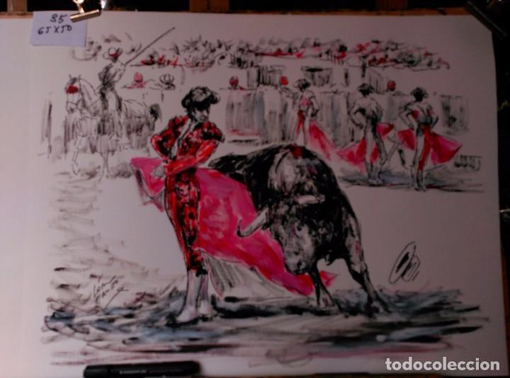LOPEZ CANITO, OLEO, EN PINTURA TAURINA (Arte - Pintura Directa del Autor)