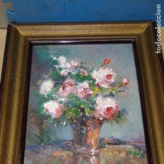 Arte: OLEO SOBRE TABLA. FIRMADO: MARGUERITE G. KREUTZBERG. Lote 91563850