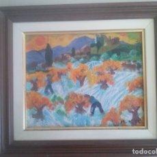 Arte: PINTURA CUADRO OLEO/LIENZO - FIRMADO M.ADELL. Lote 91636535