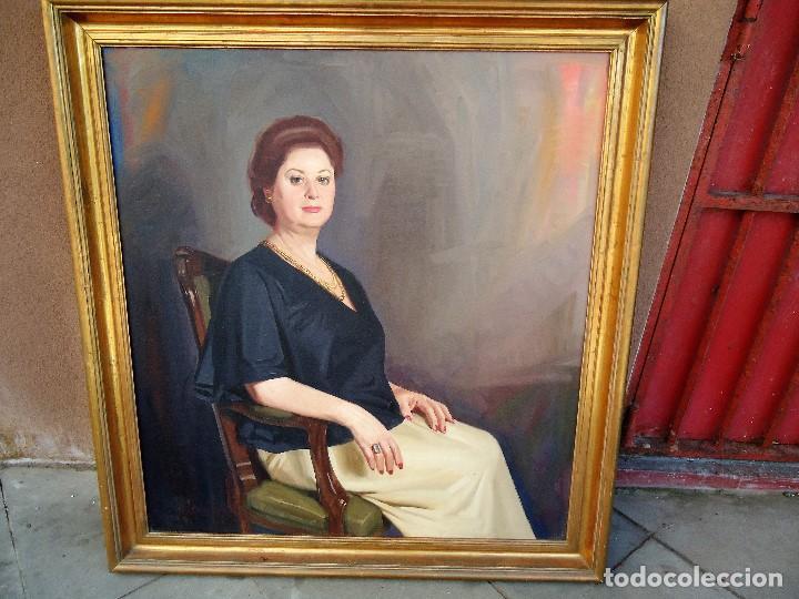 J.FCO.TORO DE JUANAS (OLEO SOBRE LIENZO) IMPRESIONANTE 117 X 108CM: (Arte - Pintura - Pintura al Óleo Moderna siglo XIX)