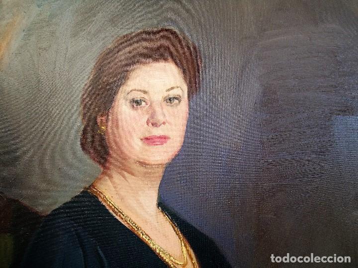 Arte: J.FCO.TORO DE JUANAS (oleo sobre lienzo) IMPRESIONANTE 117 X 108cm: - Foto 12 - 91830045