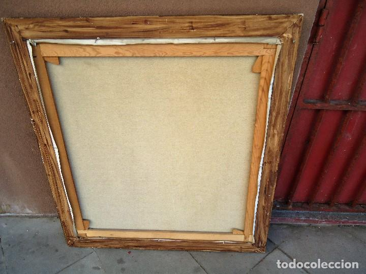 Arte: J.FCO.TORO DE JUANAS (oleo sobre lienzo) IMPRESIONANTE 117 X 108cm: - Foto 16 - 91830045
