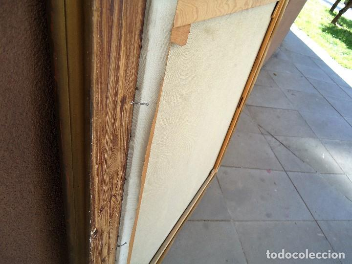 Arte: J.FCO.TORO DE JUANAS (oleo sobre lienzo) IMPRESIONANTE 117 X 108cm: - Foto 18 - 91830045