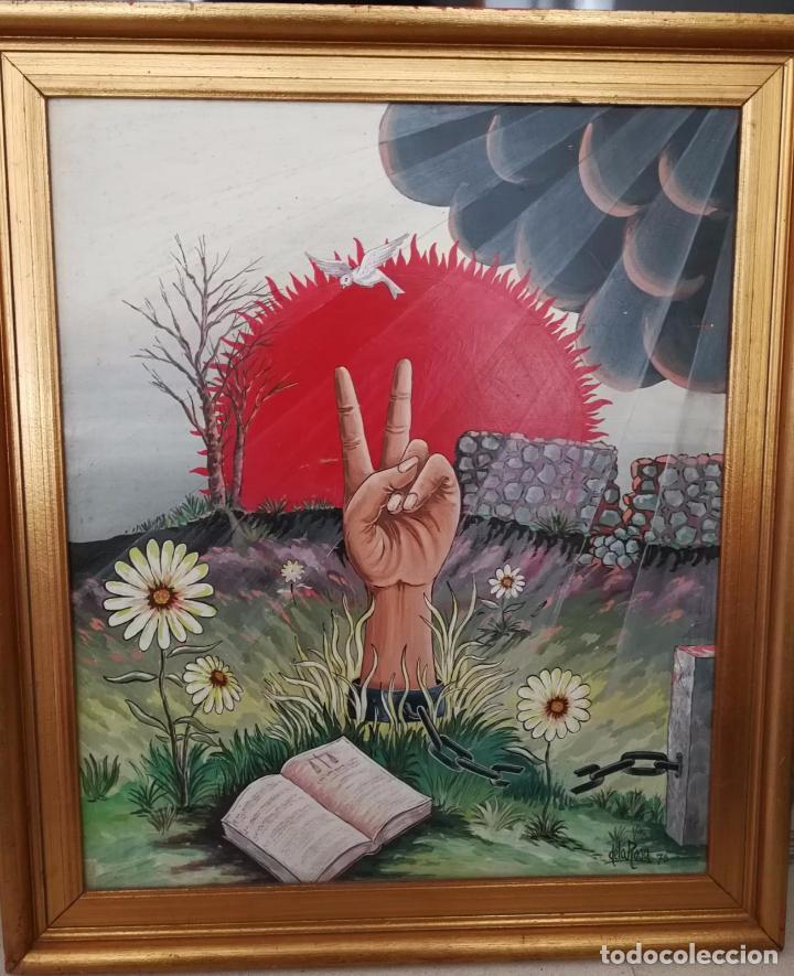 FERNANDO DE LA ROSA - OLEO SOBRE TABLA - VICTORIA - FIRMADO Y FECHADO (Arte - Pintura - Pintura al Óleo Contemporánea )