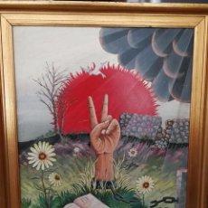 Arte: FERNANDO DE LA ROSA - OLEO SOBRE TABLA - VICTORIA - FIRMADO Y FECHADO. Lote 91891380