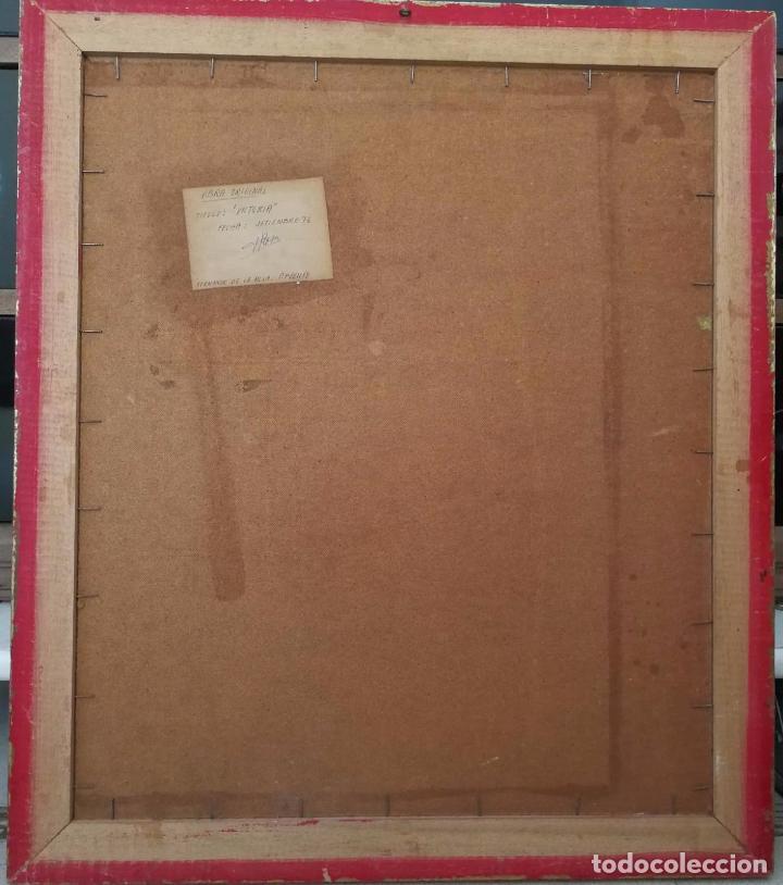 Arte: Fernando de la Rosa - Oleo sobre tabla - Victoria - Firmado y fechado - Foto 2 - 91891380