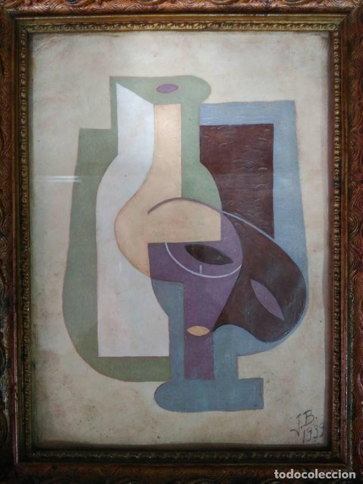 cubismo-tempera