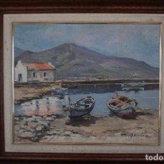 Arte: MANUEL BORDALLO SOLÉ (BARCELONA, 1920 – 1996) PRECIOSO OLEO SOBRE TELA. FIRMADO.¡ BUENA OPORTUNIDAD¡. Lote 92104155