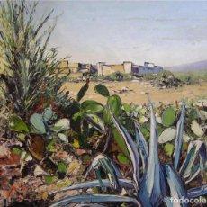 Arte: ROSEMARY DICKENS ( *1943 ) REINO UNIDO - PAISAJE DE MARRUECOS. Lote 26721059