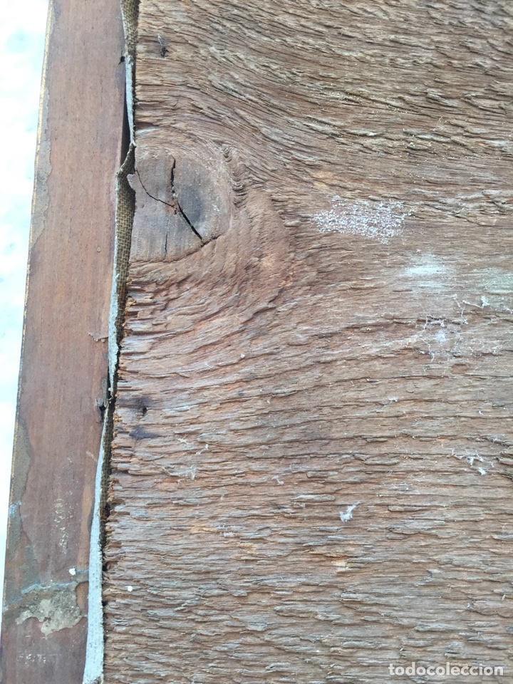Arte: Pequeño Óleo muy antiguo - Foto 4 - 92247137