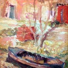 Kunst - PAISAJE MARINO. ÓLEO SOBRE LIENZO. FIRMADO. EL PALMAR. ESPAÑA. CIRCA 1950 - 91807945