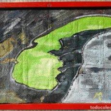 Arte: ANTONI MARTÍ (SEUDONIMO) - LAGO VERDE - OLEO SOBRE TELA - ENMARCADO 37 X 30,5. Lote 92673902
